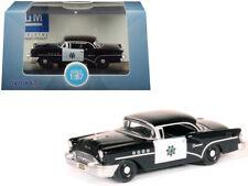 "1955 Buick Century ""California Highway Patrol"" (CHP) Black 1/87 (HO) Scale Dieca"