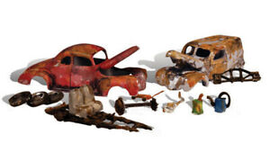 Woodland Scenics ~ HO Scale Vehicles ~ Junk Cars ~ AS5563
