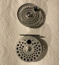 Numbered Orvis CFO III  fly reel with Spare Spool.