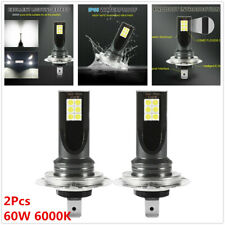 2Pc H7 LED Fog 60W 6000K Headlight Lights Kit 16000LM Car Bulbs Driving DRL Lamp