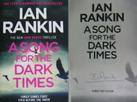Signed Book A Song for the Dark Times by Ian Rankin Hdbk 1st Edition 2020 Rebus