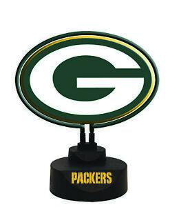 Green Bay Packers Team Logo Neon Lamp