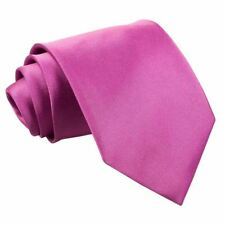 Plain Satin Regular Tie- mulberry