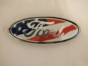 Ford American Flag 9'' Emblem for Grill or Tailgate - New in Box