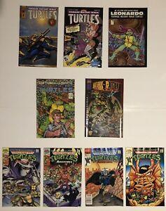 Teenage Mutant Ninja Turtles 9 books Mirage/Archie Casey Jones Leonardo Shredder