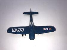 Vintage Universal Products 1977 Diecast Toy Airplane Corsair F4U-4