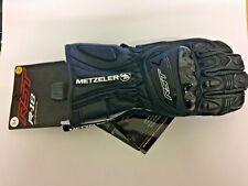 RST R-18 Semi Sport CE Leather Glove - Black / Black Limited edition Metzeler