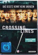 Crossing Lines  1. Staffel  DVDs NEU