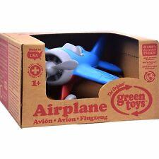 Green Toys Airplane Blue Kids Hobbies Preschool Pretend Play Stem Learning Sales