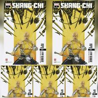 SHANG-CHI #1 (OF 5) 2ND PRINT ~ 5 COPIES ~ MARVEL ~ 11/4