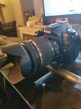 Nikon D90 DX-Format CMOS Digital SLR Camera - Black with Tamron 18-270mm Lens