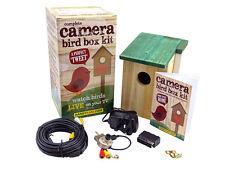 Computer pronto Bird BOX CAMERA KIT-colore, visione notturna, Suono, senza scatola + USB