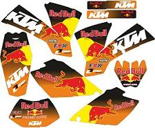kit pegatinas ktm exc-sx 125-525 2004 sticker, adhesivos, graphics