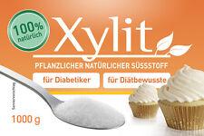 Xylit Xylitol 1000 G Birkenzucker Zuckerersatz