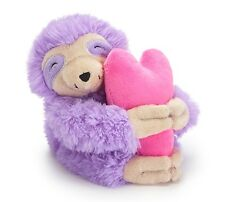 Vase Hugger with Pink Heart Sloth 5 inch Plush Toy