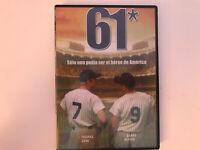 61 DVD SOLO UNO PODIA SER EL HEROE DE AMERICA THOMAS JANE BARRY PEPPER HBO