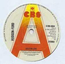 "Hudson-Ford - Sold On Love - Promo - 7"" Single"