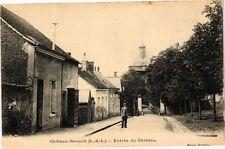 CPA   Chateau-Renault (I.-&-L.) -Entrée du Cháteau   (229028)