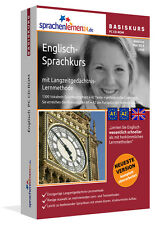 ENGLISCH-BASIS-Sprachkurs XL CDROM + MP3-Audio-CD NEU