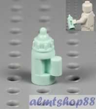 LEGO - Baby Bottle w/ Handle Light Aqua Blue - Nursery Bed Minifigure Food City