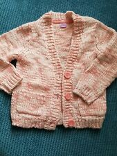 5-6 years girl knitted winter cardigan from f&f