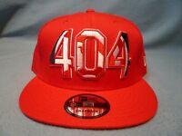 New Era 9Fifty Atlanta Hawks 404 Area Code Snapback BRAND NEW hat cap NBA ATL