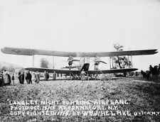 Langley Night Bomber Aircraft at Frankfort New York World War I WWI 8x10 Photo