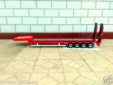 4-axis Large Aluminum Semi Trailer w/ Retract for all Tamiya 1/14 Tractor Truck
