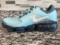 Nike Air Vapormax Bleached Aqua/Glacier Blue 917962-402 Boys Size 6Y