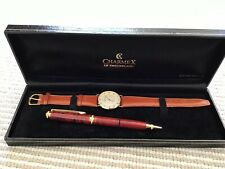 Charmex Watch Swiss Made Vintage Brand NEW With Pen Gift Box Set