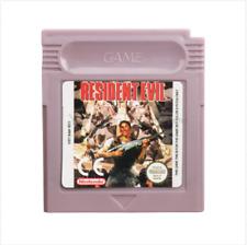 Nintendo Game Boy Color Gbc Cartridge Console Card Resident Evil