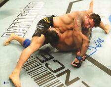 Frank Mir Signed 11x14 Photo BAS Beckett COA UFC 140 Nogueira Broken Arm Picture