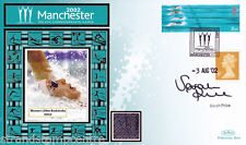 """2002 Commonwealth Games - Benham """"Special"""" - Signed by SARAH PRICE"""