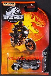 2019 Matchbox Jurassic World™ #15 '98 Cagiva Canyon 500 GUNMETAL / SILVER / MOC