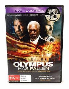 Olympus Has Fallen DVD Morgan Freeman Region 4 Free Postage