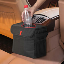 Car Trash Garbage Bag Waterproof  Leak Proof with Storage Pockets
