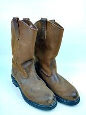 Red Wing Shoes Pecos Pull On Boots Men's 6 US leather made in USA 1105