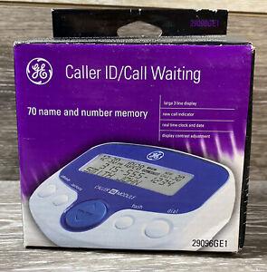 GE Caller ID Call Waiting 70 Name and Number Memory Model 29096GE1 Large Display