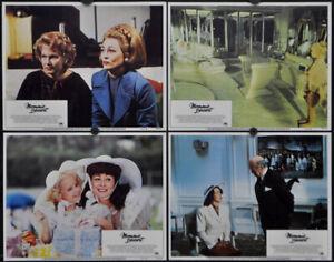 MOMMIE DEAREST 1981 ORIGINAL 11X14 MNT LOBBY CARD SET FAYE DUNAWAY DIANA SCARWID