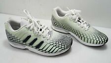 Adidas Mens Pale Green Polyester Running Shoes Size 10