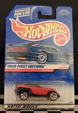 922 Jeepster (red, sp5) 17/26 1999 First Editions Hot Wheels See Details!