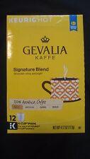 New listing Gevalia Kaffe Signature Blend Mild Arabica Coffee 12 K-Cup Pods 4.12 Oz Keurig