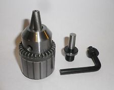 "1/2"" Jacobs Drill Chuck on MT0 Arbor "" NEW "" Fits Sherline"