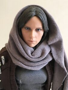 "Jyn Erso ( Budget ) For Your Star Wars Hot Toys Display 12"" 1/6 Rogue One"