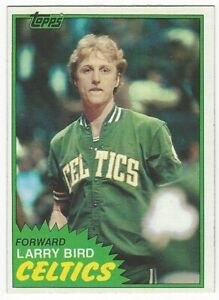 1981-82 TOPPS BASKETBALL #4 LARRY BIRD 2ND YEAR - EXCELLENT