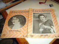 rivista L'ECO DEL  CINEMA N. 14 - MARZO/APRILE 1925 NITA NALDI