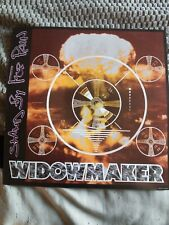 "Rare 12""X 12"" Widowmaker Poster for Stand By For Pain Nm."