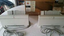 Apple Computer M2003 StyleWriter II 2 vintage Inkjet PRINTER w/ 1 Box LOT / SET