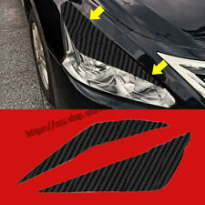 For Nissan Altima 2013-2015 3D Carbon Fiber Car Headlight Eye Brow Cover Sticker