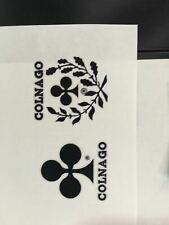 Colnago Super 1970's Bicycle Decals With NOS Columbus Frame Decal
